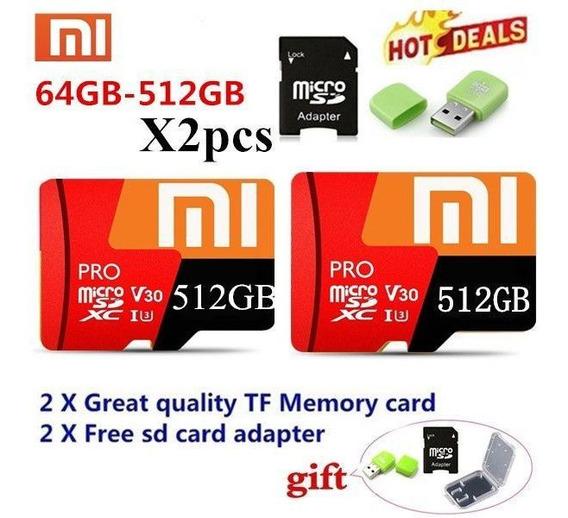 Micro Sd Card Xiaomi 512gb-apenas 1 Cart Sd512gb+adapt+usb