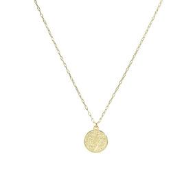 Colar Piuka Medalha São Bento Folheado A Ouro 18k - Cor: Dou