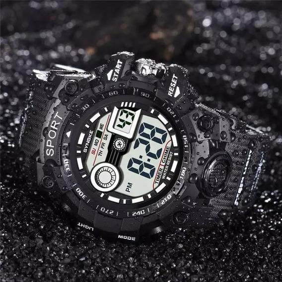 Relógio Masculino Sport + Caixa + Brinde Imperdível !!!!