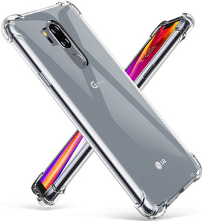 Funda Tpu Transparente Antishock Lg G7 Thinq - Otec