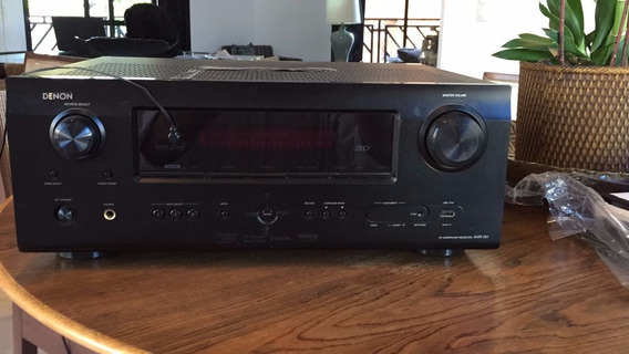 Home Theat Receiver Denon, Subwoofer 200 Watts, 5 Cxs Acust