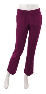 Pantalon Dama Jareta Tela Antifluidos Marino