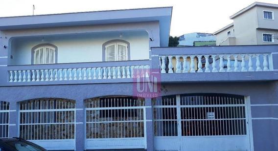 Sobrado Com 4 Dormitórios À Venda, 192 M² Por R$ 680.000 - Vila Cláudio - Santo André/sp - So0573