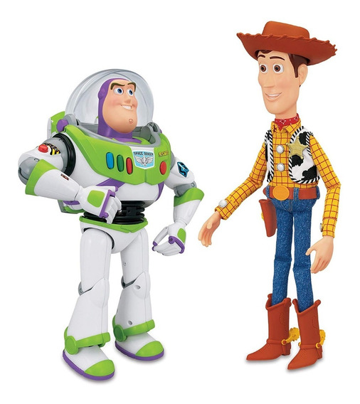 Toy Story 4 Woody Y Buzz Lightyear Juguete Disney Original