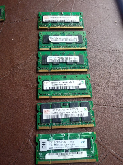 Memorias Ddr2 Notebook 1 Gb