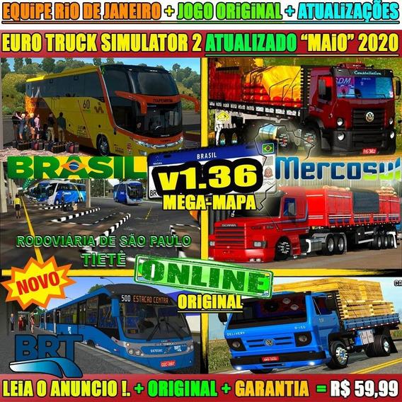 Euro Truck Simulator 2 Brasil 2020 Cidades Reais Steam Key