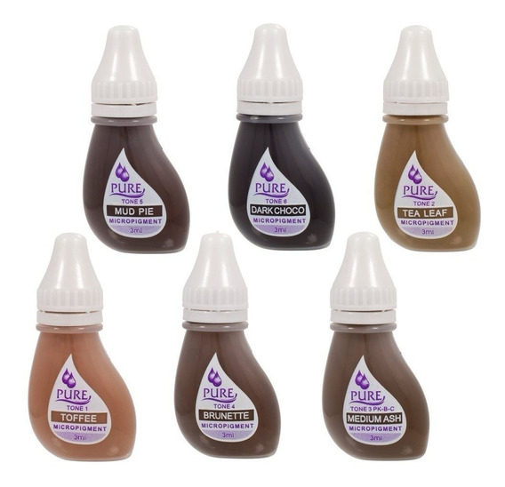 Pigmento Microblading Pure Biotouch Cejas 100% Originales