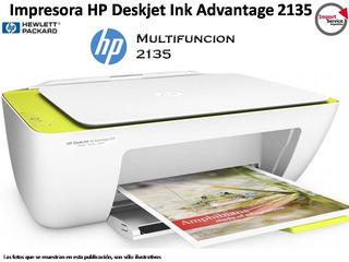 Impresora Multifuncional Hp Deskjet Ink Advantage 2135 Usb