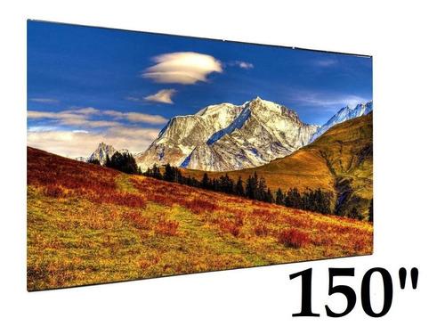 Imagen 1 de 6 de Telon Pantalla Proyector 150 Videobeam G4beam Quierobeam