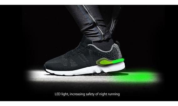 Shoe Tracker Zapatillas Luz Led Smart Running Bluetooth Elah