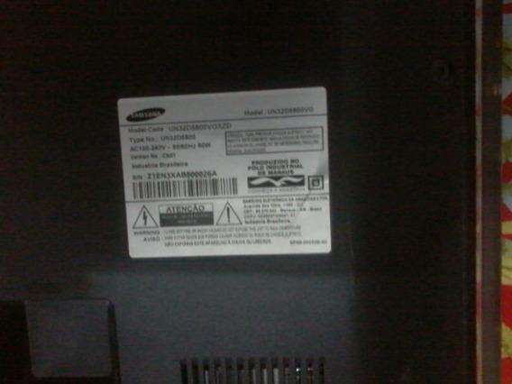 Placa Principal Tv Smart Samsung Modelo Un32d5800vgxzd