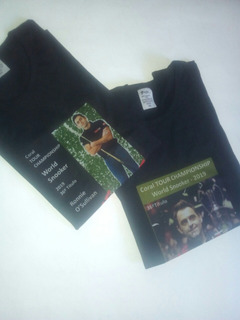Camiseta Snooker The Rocket