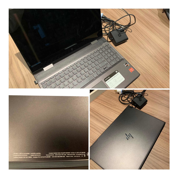 Notebook Hp Evy 360 15 Touch Screen
