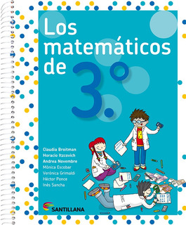 Los Matemáticos De 3.° - Santillana