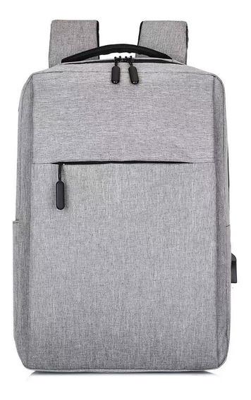 Ocio Business Computer Bag Usb Mochila De Viaje Recargable