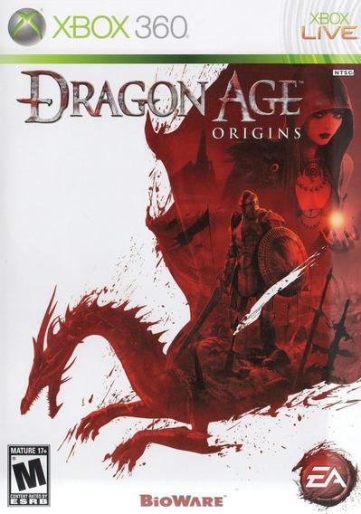 Jogo Dragon Age Origins Xbox 360 One Original Mídia Física