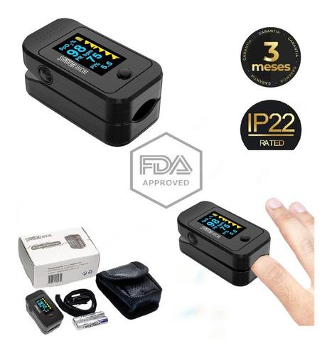 Imagen 1 de 5 de Oxi-me-tro Certificado Usa + Baterias Incluidas Tienda