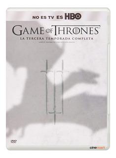 Juego De Tronos Game Of Thrones Tercera Temporada 3 Seriedvd