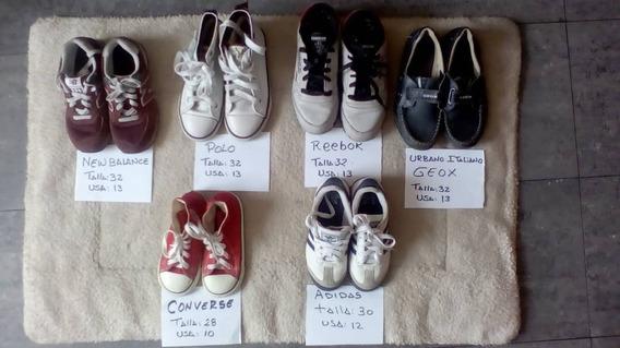 Zapatos Deportivos Niño Varon Usados