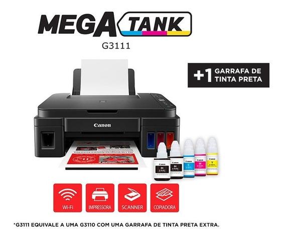 Impressora Colorida Multifuncional Canon G3111 Com Wi-fi