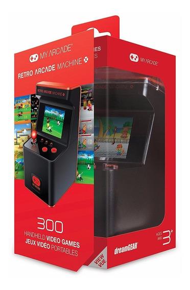 My Arcade Retro Machine Portatil Con 300 Juegos Nuevo