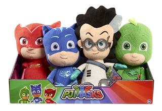 Pj Masks Muñeco Peluche 20 Cm Heroes En Pijamas Mask