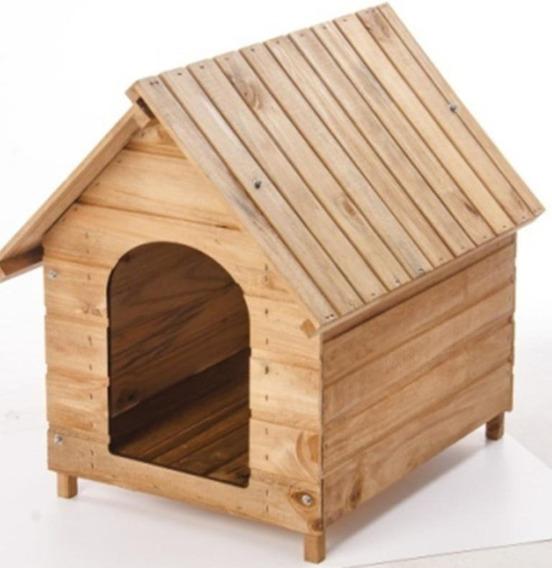 Casa Casinha Cachorro E Gato Madeira N. 04 Envernizada