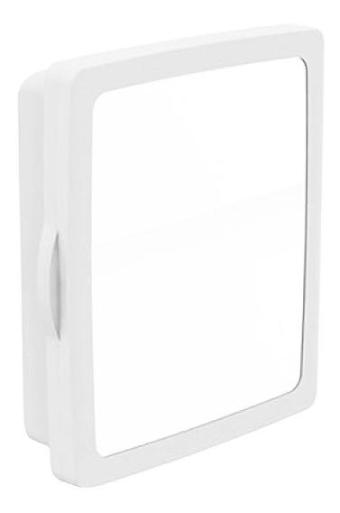 Armário Para Banheiro Branco Com Espelho Fixável Na Parede