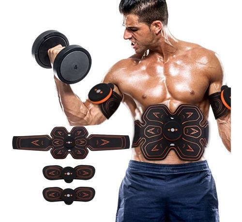 Estimulador Smart Fitness Cinturon Abdomen Brazos Recargable