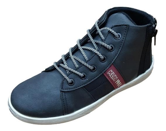 Sapato Tênis Cano Alto Flyer Street Klin Juvenil Tam 28 - 36