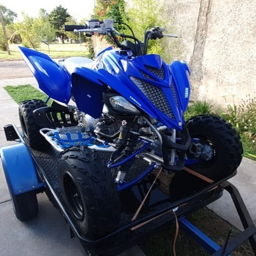 Yamaha-raptor 700-c/trailer
