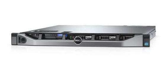 Servidor Dell R430 16gb Memória Ddr4 2 Discos Sata 1tb 3,5