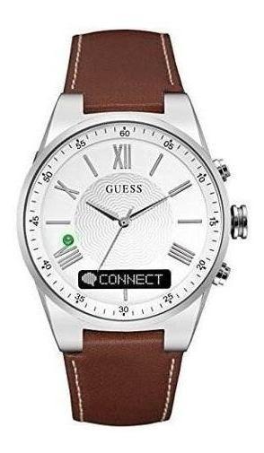 Reloj Inteligente De Acero Inoxidable Guess Para Hombres - C