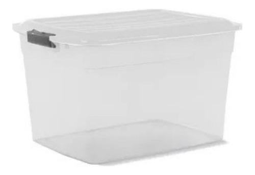 Imagen 1 de 2 de Caja Organizadora Apilable 34lts Colombraro Plastica