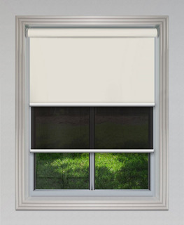 Cortinas Roller Dobles Black Out Sun Screen M2