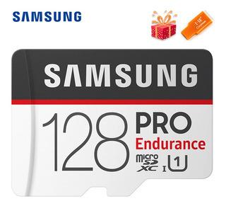 Samsung Cartão De Memória Pro Endurance Micro Sd 128 Gb Tf C