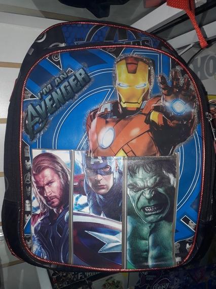 Mochila Avengers 16 Pulgadas