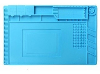 Manta Magnética Antiestática Silicone Azul S-160 G 300x450