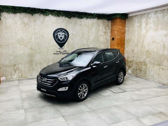 Hyundai/santa Fé V6 13/14 5lug Preta 88mkms Blindada Nv 3a