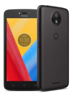 Motorola Moto C 8gb Ram 1gb Libre De Fabrica Sellado- Negro
