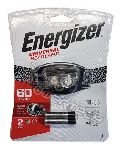 Imagen 1 de 1 de Linterna Headlamp Tipo Vincha Energizer 2 Modos