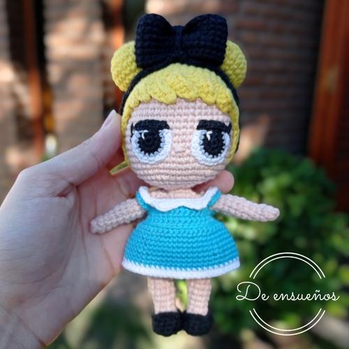 Muñeca Amigurumi Lol Alicia (tejida A Crochet)