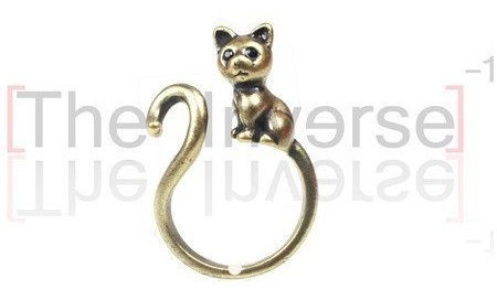 Anel Cat (ouro Velho)