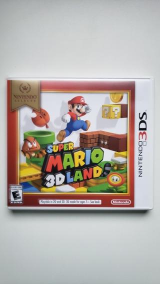 Super Mario 3d Land 3ds Original Midia Fisica