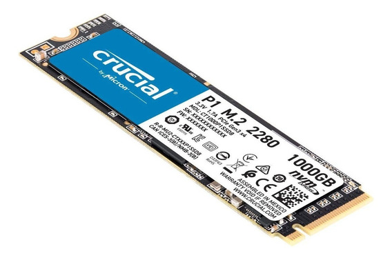 Ssd M.2 1000gb Crucial Para Notebook Dell Inspiron I15-3583