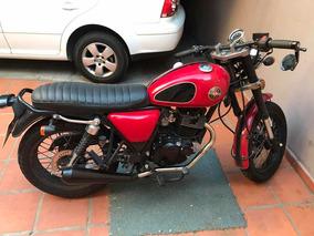 Moto Gilera Cafe Racer