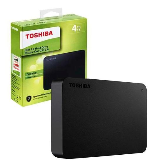 Hd Externo Toshiba Canvio Basics Hdtb440xk3ca 4tb
