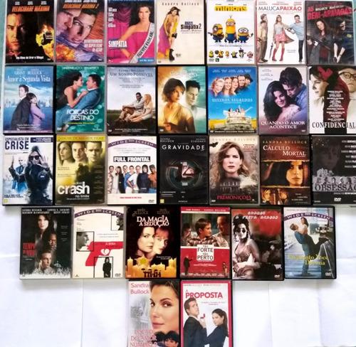 Imagem 1 de 4 de Dvd Sandra Bullock Filmes Colecao - Original
