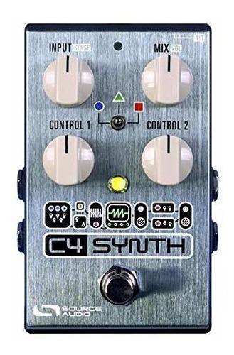 Fuente Audio One Series C4 Pedal De Efectos De Sintetizador