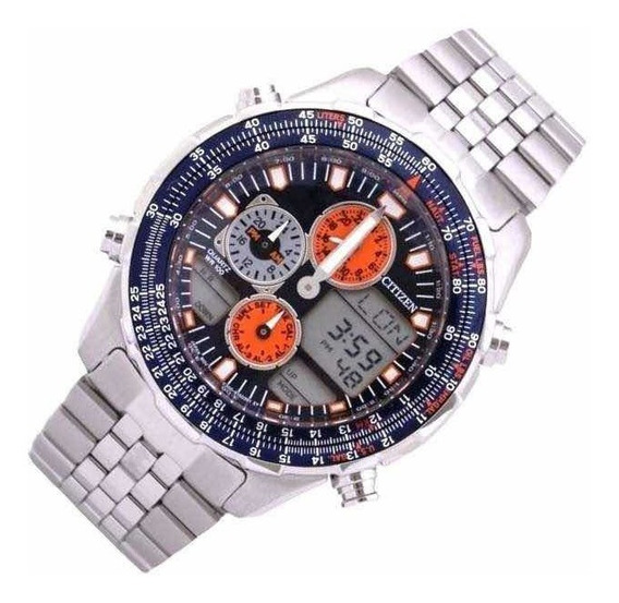 Relógio Citizen Navihawk Jn0121-82l Tz10173f